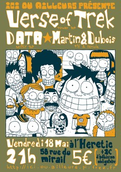 Verse of Treck - DATA - Martin & Dubois